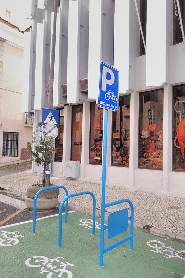BiciParking Sign