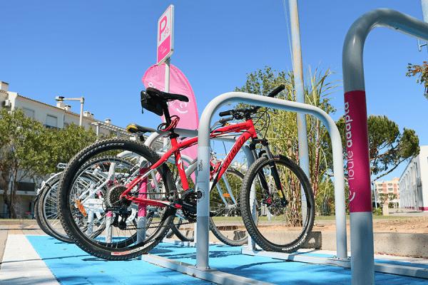 BICIparking Basic Biciway