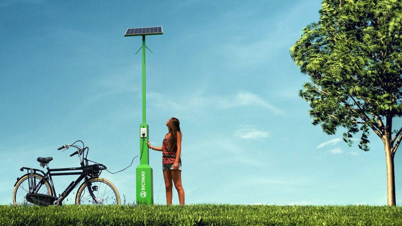 Carregamento de Bicicletas Elétricas
